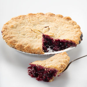 Raspberry Blueberry Pie