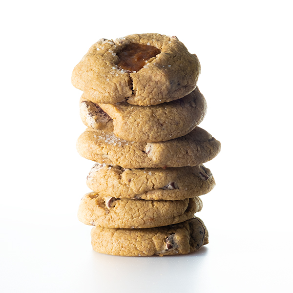 Buckwheat Caramel Cookie (8pc)