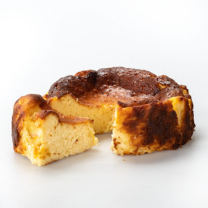 Basque Cheesecake Slices